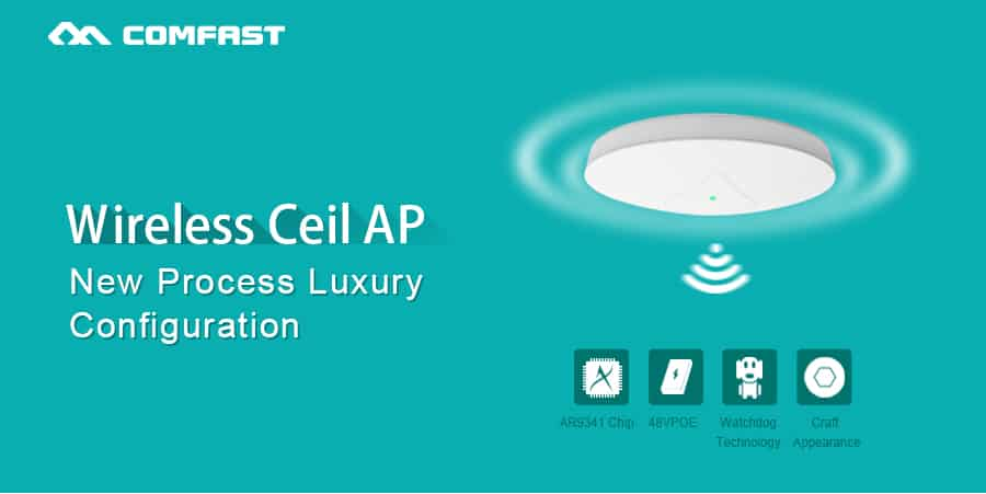 COMFAST CF-E335N wireless ceil ap