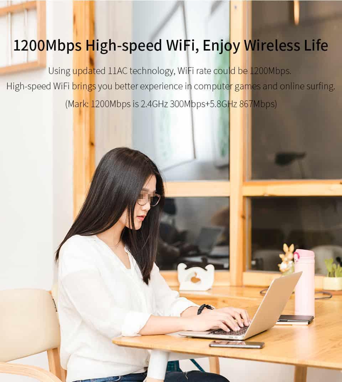 Comfast CF-WR755AC 200mbps Hig-spedd WiFi