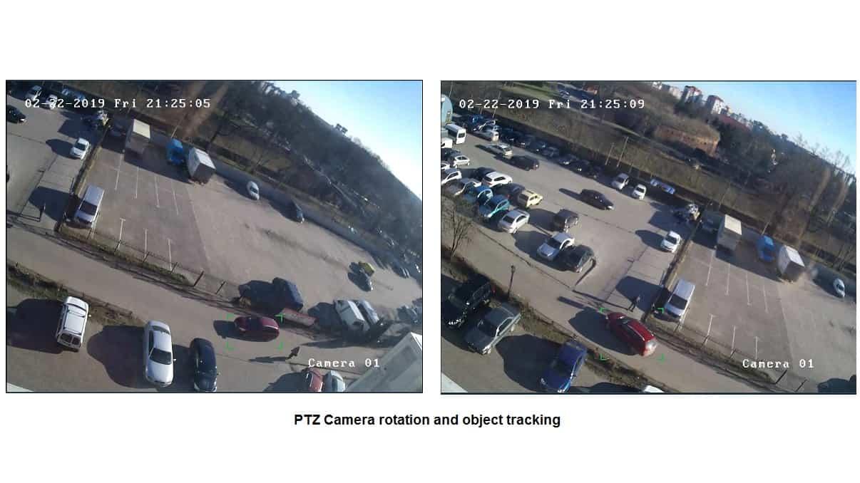 [Trabajar con cámaras |] Seguimiento, preajustes y recorridos PTZ automatizados