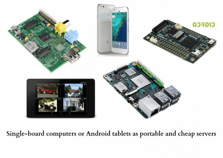 [Para revendedores |] Cree un sistema de videovigilancia eficiente pero de bajo presupuesto utilizando microcomputadoras de placa única como Raspberry Pi o dispositivos Android