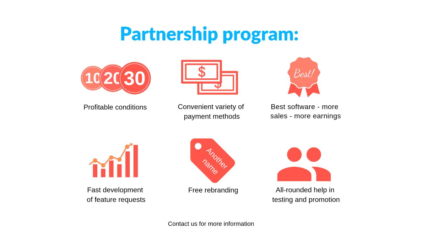 [Para revendedores |] Programa de asociación beneficiosa